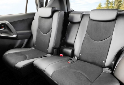 Toyota RAV4 VI kombi wnętrze
