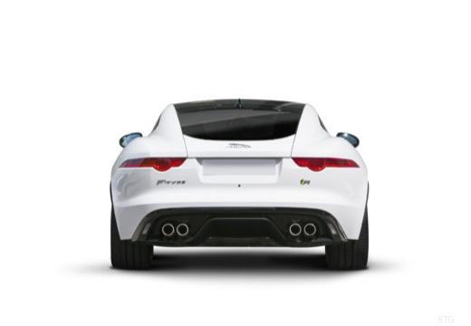 JAGUAR F-Type I coupe biały tylny