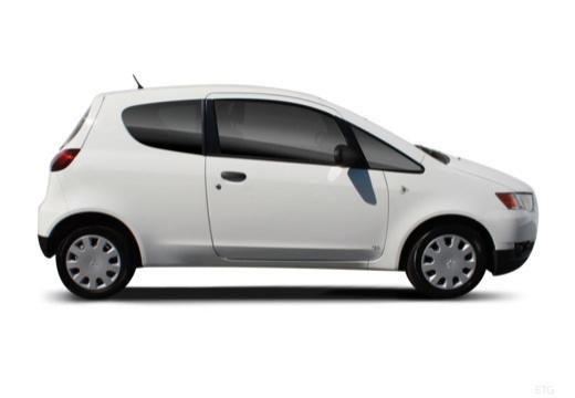 MITSUBISHI Colt VI hatchback biały boczny prawy