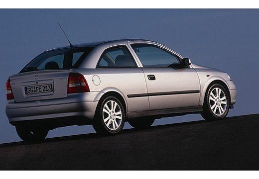 OPEL Astra II hatchback silver grey tylny prawy