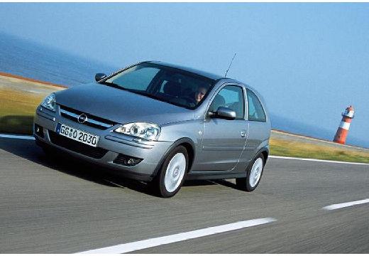 OPEL Corsa C II hatchback silver grey przedni lewy