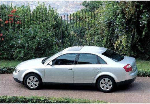 AUDI A4 8E I sedan silver grey boczny lewy