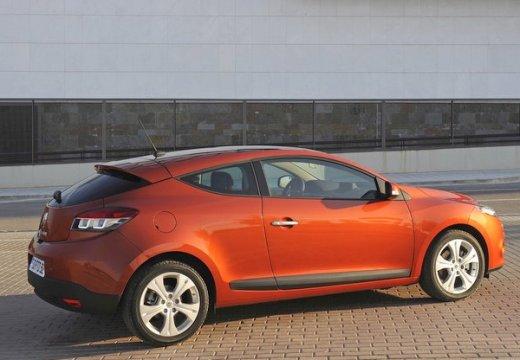 RENAULT Megane III Coupe I hatchback czerwony jasny tylny prawy