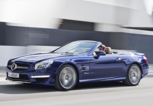 MERCEDES-BENZ Klasa SL SL 231 I roadster niebieski jasny przedni lewy