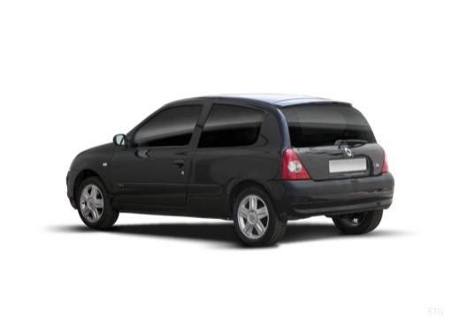 RENAULT Clio II III hatchback czarny tylny lewy