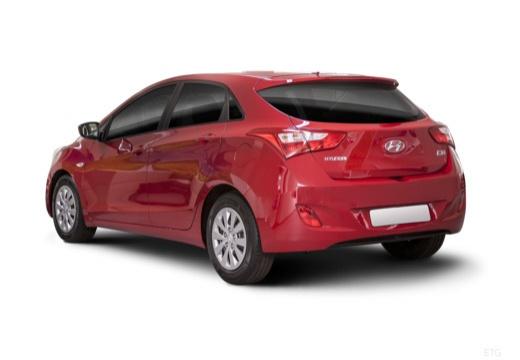 HYUNDAI i30 IV hatchback czerwony jasny tylny lewy