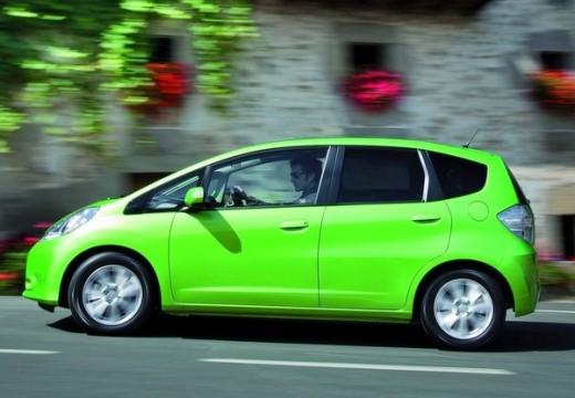 HONDA Jazz III hatchback zielony boczny lewy