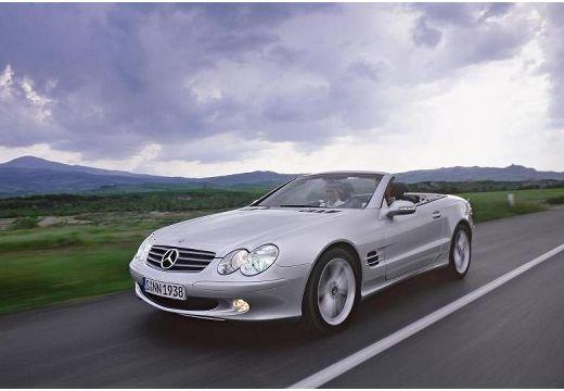 MERCEDES-BENZ Klasa SL SL 230 I roadster silver grey przedni lewy