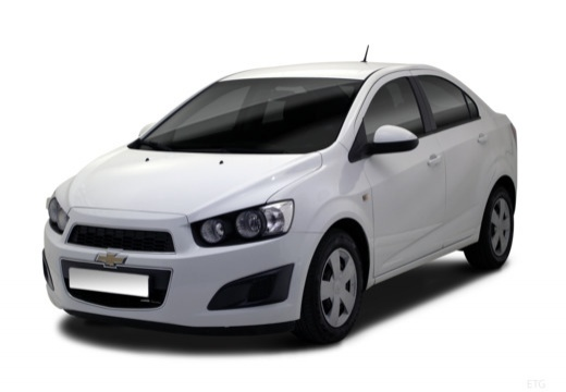 CHEVROLET Aveo III sedan biały przedni lewy