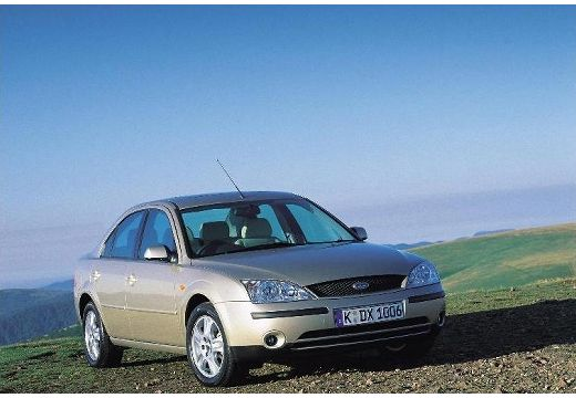 FORD Mondeo III sedan silver grey przedni prawy