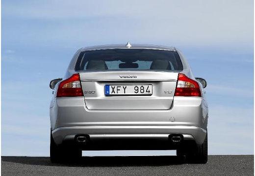 VOLVO S80 III sedan silver grey tylny