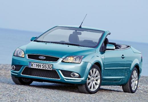 FORD Focus CC I kabriolet niebieski jasny przedni lewy
