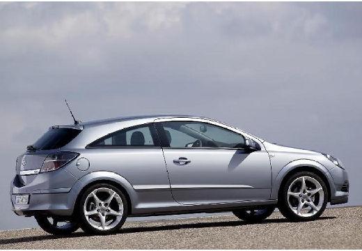 OPEL Astra III GTC I hatchback silver grey tylny prawy