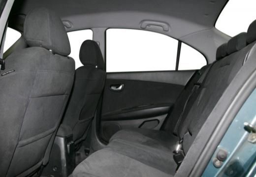 NISSAN Primera IV sedan wnętrze