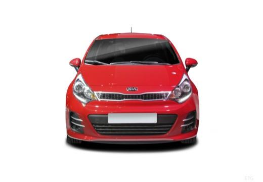 KIA Rio VII hatchback czerwony jasny przedni