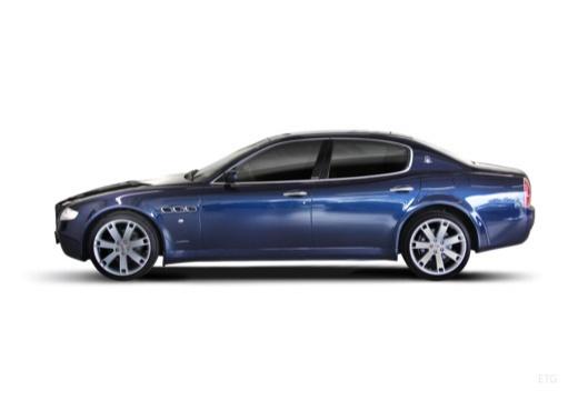 MASERATI Quattroporte II sedan niebieski jasny boczny lewy
