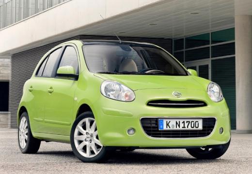 NISSAN Micra VIII hatchback zielony przedni prawy