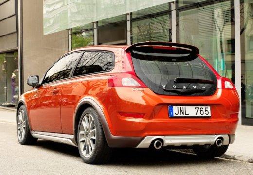 VOLVO C30 II hatchback czerwony jasny tylny lewy