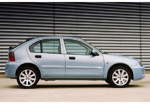 ROVER 25 hatchback niebieski jasny boczny prawy