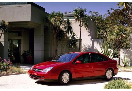 CITROEN C5 I hatchback czerwony jasny przedni lewy