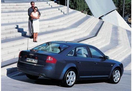 AUDI A6 /S6 4B II sedan niebieski jasny tylny prawy