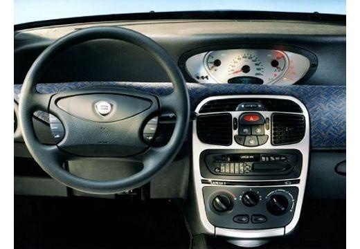 LANCIA Y hatchback tablica rozdzielcza