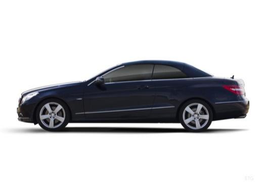 MERCEDES-BENZ Klasa E Cabrio A 207 I kabriolet boczny lewy