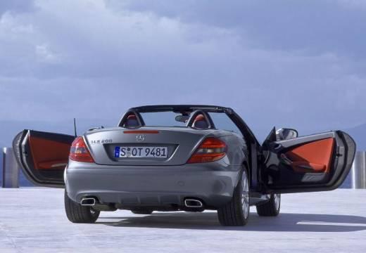 MERCEDES-BENZ Klasa SLK roadster szary ciemny tylny prawy
