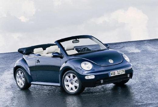 VOLKSWAGEN New Beetle kabriolet niebieski jasny przedni prawy