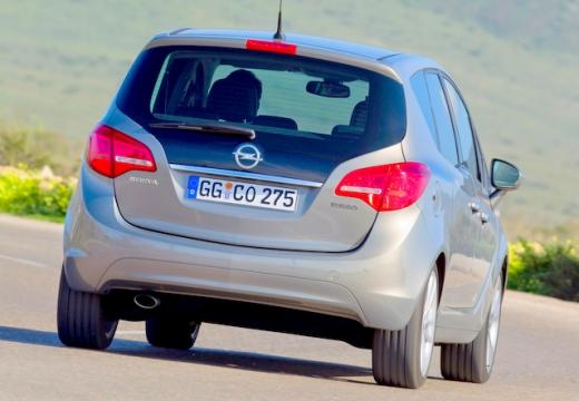 OPEL Meriva III hatchback beige tylny prawy