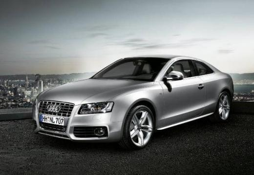 AUDI A5 coupe silver grey