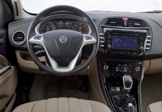LANCIA Delta III hatchback szary ciemny tablica rozdzielcza