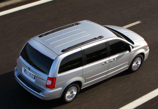 LANCIA Voyager I van silver grey tylny prawy