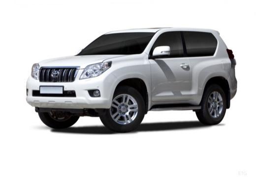 Toyota Land Cruiser 150 I kombi biały przedni lewy