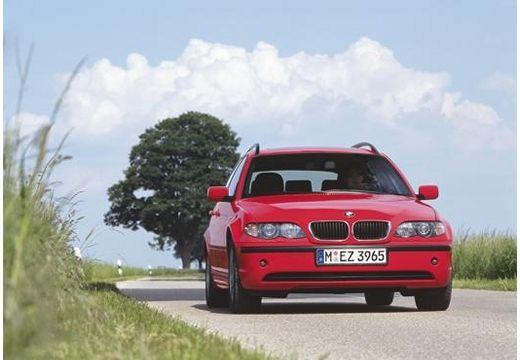 BMW Seria 3 Touring E46/3 kombi czerwony jasny przedni prawy