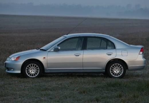 HONDA Civic IV sedan silver grey boczny lewy