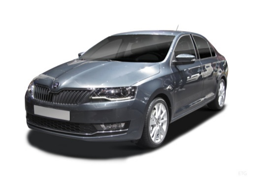 SKODA Rapid Liftback hatchback przedni lewy