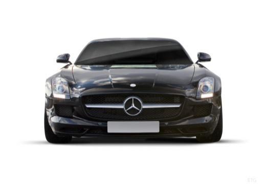 MERCEDES-BENZ SLS coupe czarny przedni