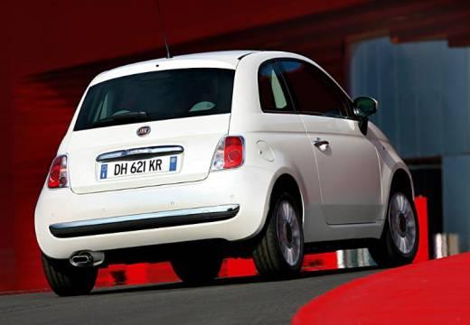 FIAT 500 I hatchback biały tylny prawy