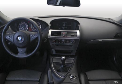 BMW Seria 6 E63 II coupe tablica rozdzielcza