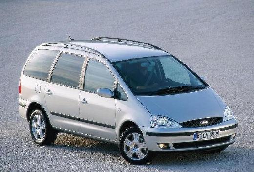FORD Galaxy II van silver grey przedni prawy