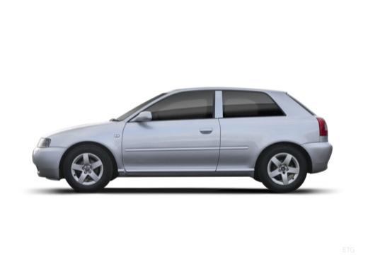 AUDI A3 /S3 8L II hatchback boczny lewy