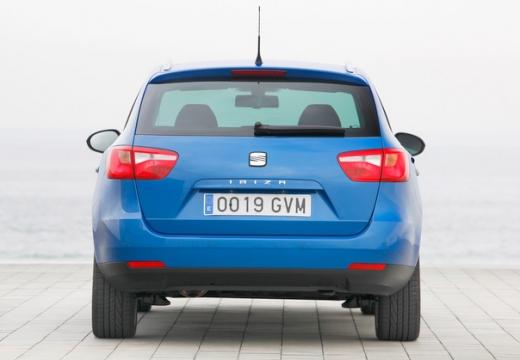SEAT Ibiza kombi niebieski jasny tylny