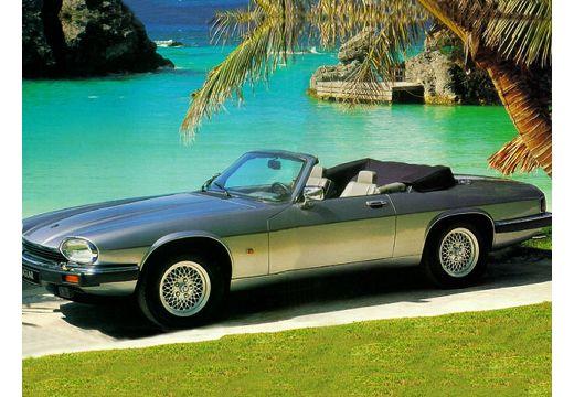 JAGUAR XJS coupe silver grey przedni lewy