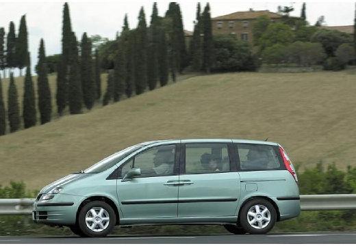 FIAT Ulysse van zielony jasny boczny lewy