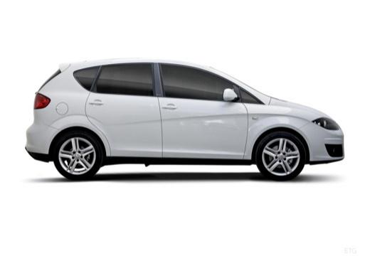 SEAT Altea II hatchback biały boczny prawy