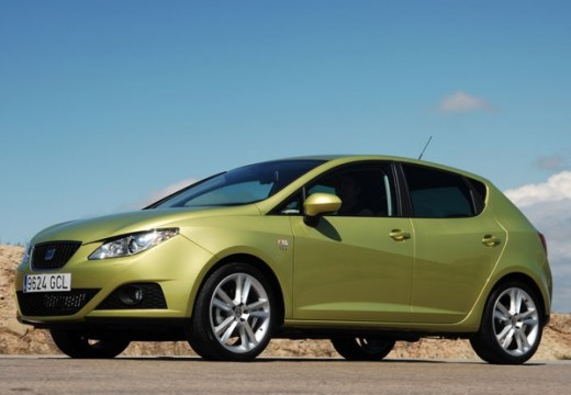 SEAT Ibiza V hatchback zielony przedni lewy