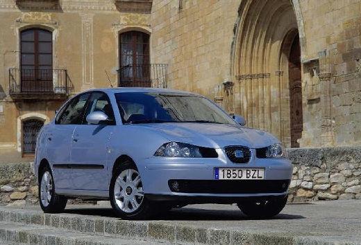 SEAT Cordoba III sedan silver grey przedni prawy