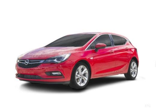 OPEL Astra V I hatchback czerwony jasny przedni lewy