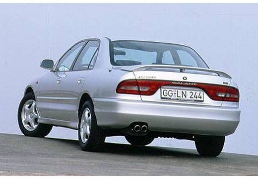MITSUBISHI Galant III sedan silver grey tylny lewy